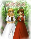 SnowWhite + Rose Red by kikuhito