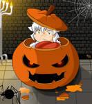 Chibi Inu halloween