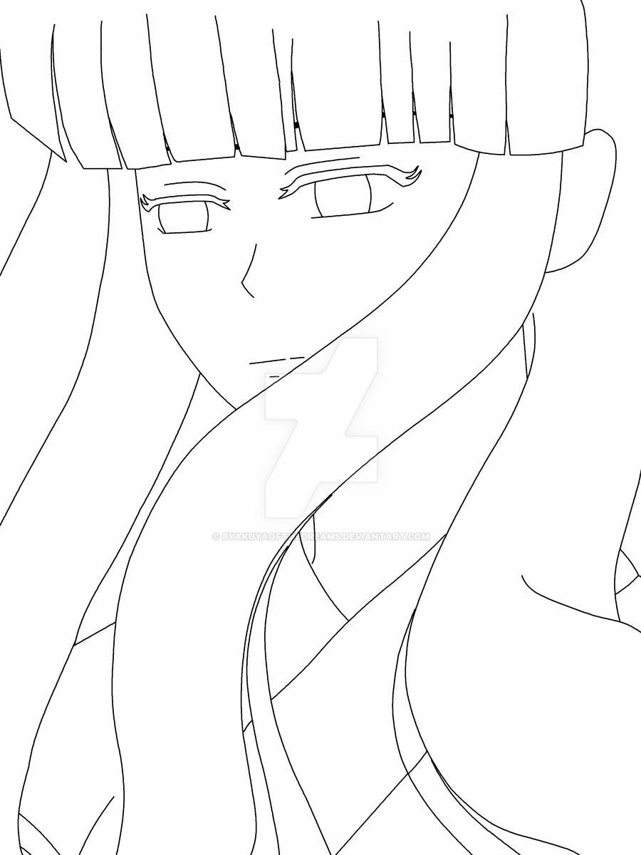 Kikkyo Lineart by ByakuyaoftheDreams