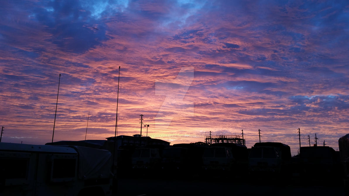 Sunset by ByakuyaoftheDreams