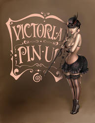 Victorian Pin Up by CintiaGonzalvez