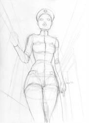 Unpublished Sketch n5