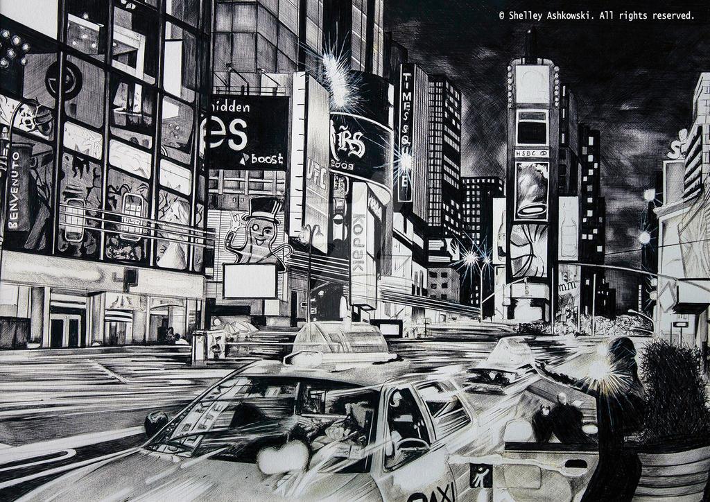 Times Square by shelleysupernova