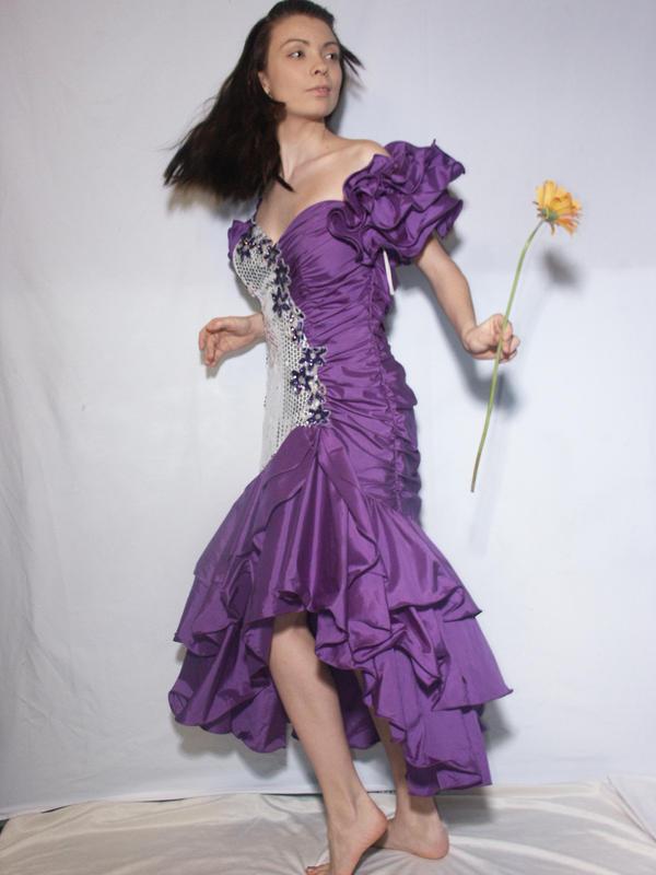 purple dress 6 by cyber stock on deviantart