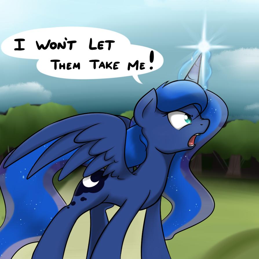 Luna's Defiance by Poinger