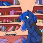 Luna Abashed