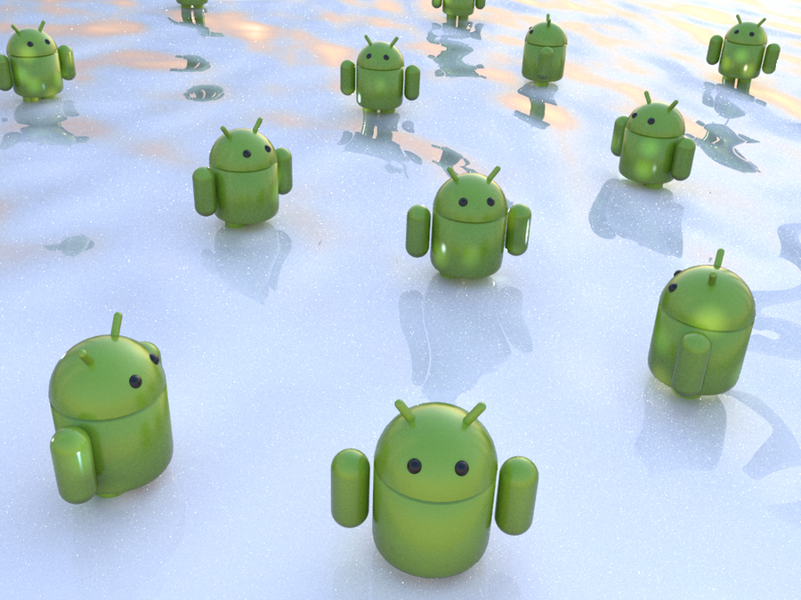 Android Fantasy Beach by jaruworks