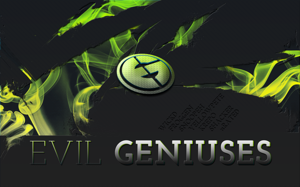 eg evil geniuses wallpaper 1920x1200 by firelysm on deviantart
