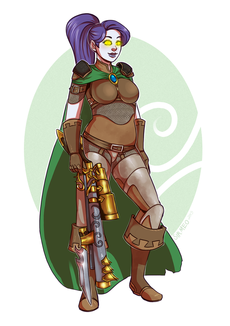 [commission] Lydia Morrison by SirMeo