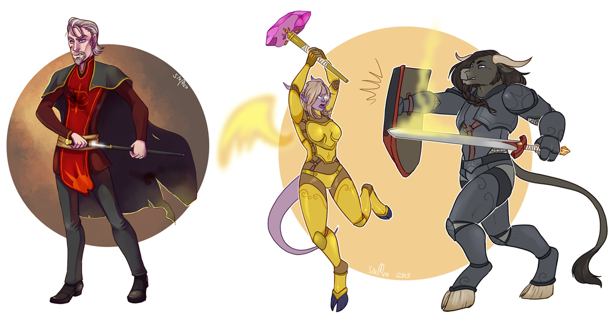 [commission] Iron Artist round 2 - 4,5 by SirMeo