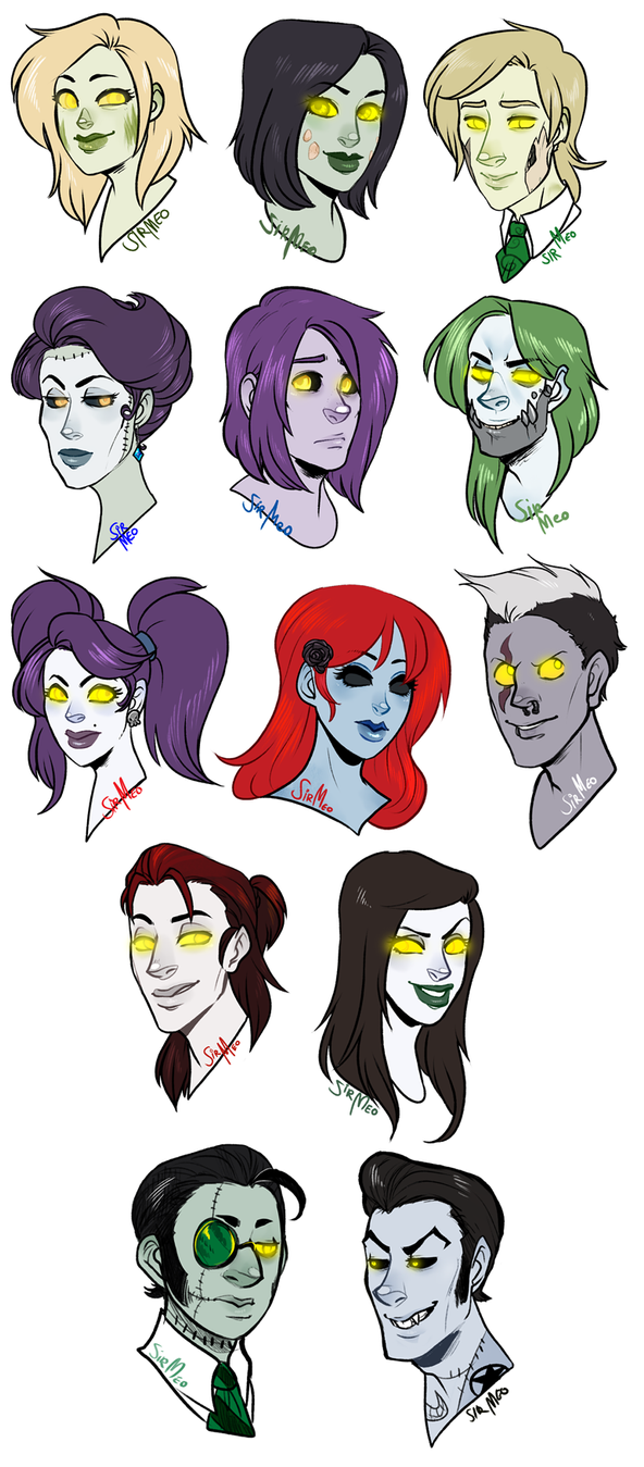 [wow] Cute Undead Headshots by SirMeo