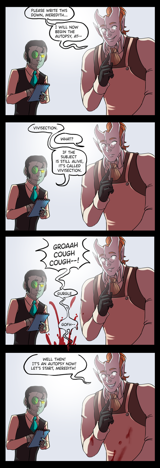 [wow][comic] For Science! by SirMeo