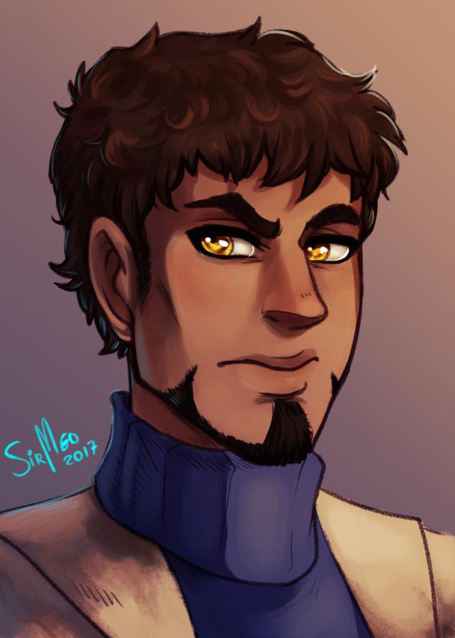 Amon Portrait by SirMeo