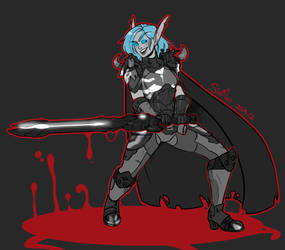 [wow][gift] Death Knight by SirMeo