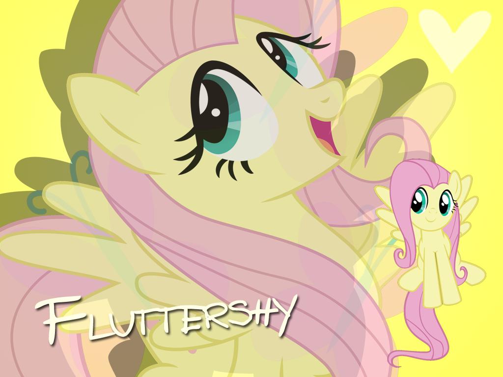 Fluttershy Wallpaper by Ichigooneechan66