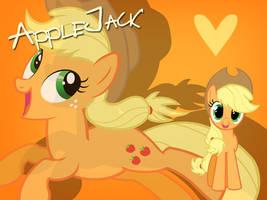AppleJack Wallpaper by Ichigooneechan66