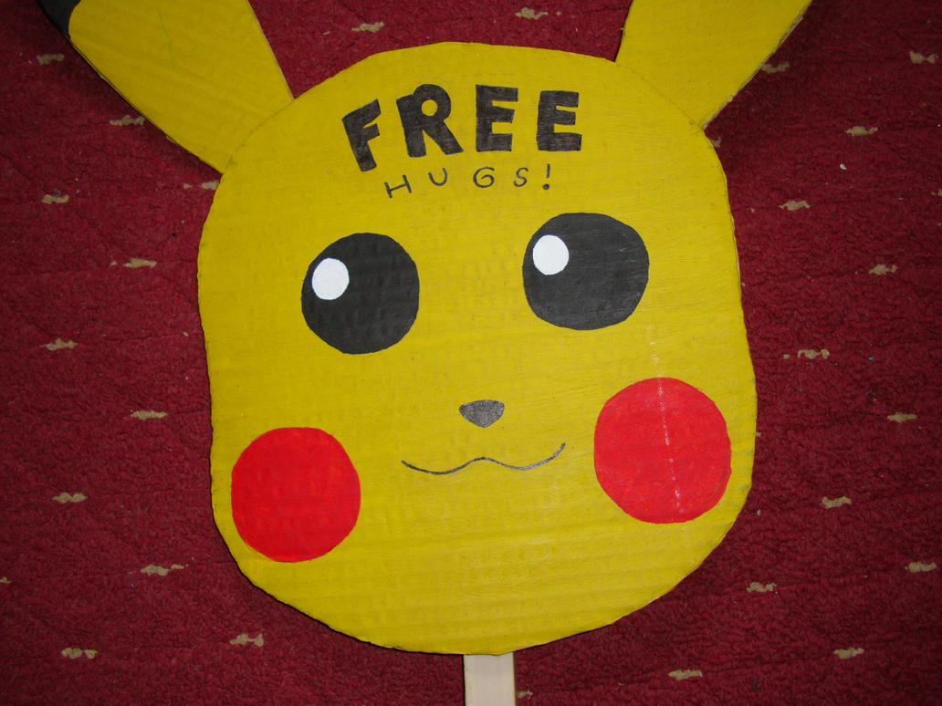Pikachu Free Hugs Sign Closeup By Ichigooneechan66 On. Courage Signs. Liver Failure Signs Of Stroke. Psychotic Signs Of Stroke. Greed Signs. 6th December Signs. Deaf Signs Of Stroke. Purple Foot Signs. Fetal Signs