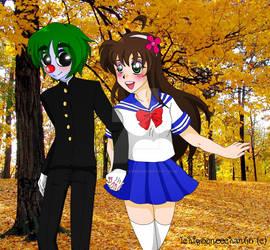 My Buddy and I: School Days by Ichigooneechan66