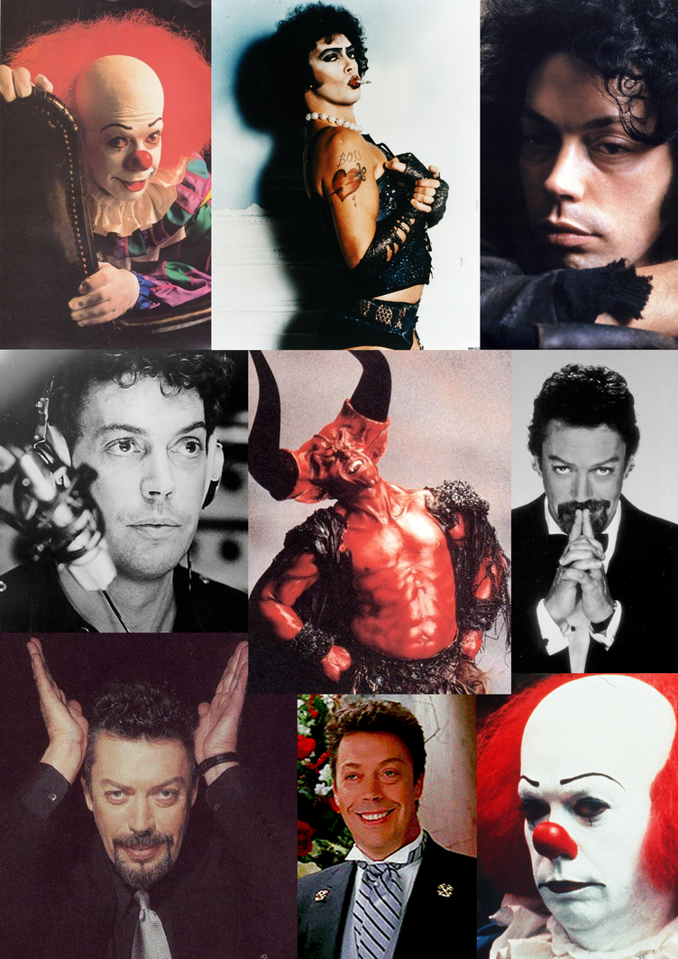 Tim Curry Collage by Ichigooneechan66