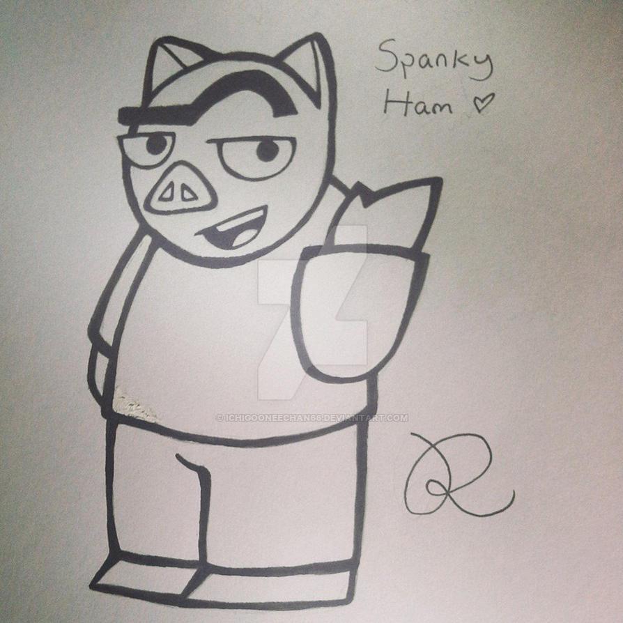 Spanky Ham by Ichigooneechan66