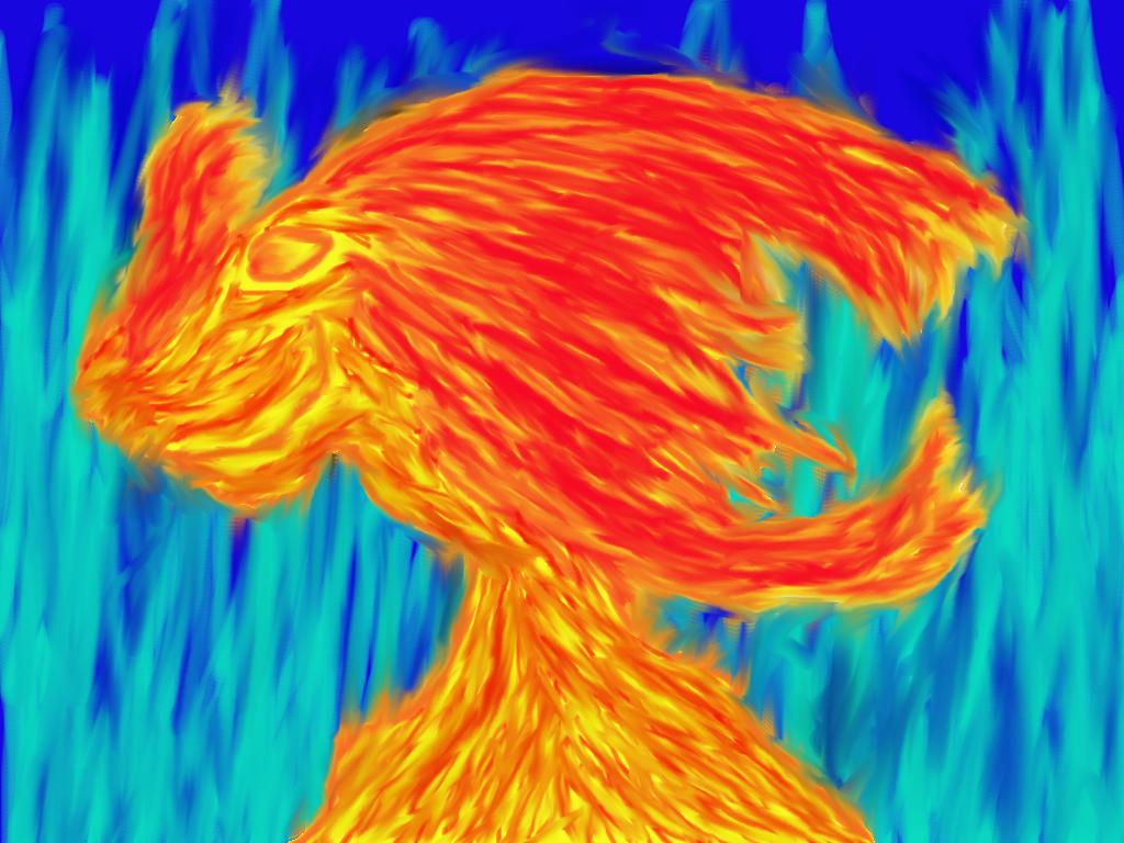 Fiery Randomcritter by Sparky-Lurkdragon