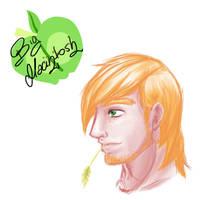 Big Macintosh Doodle by ButterFlyNeko
