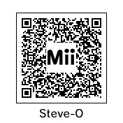 Steve-O Mii QR code by KAIJUfreak