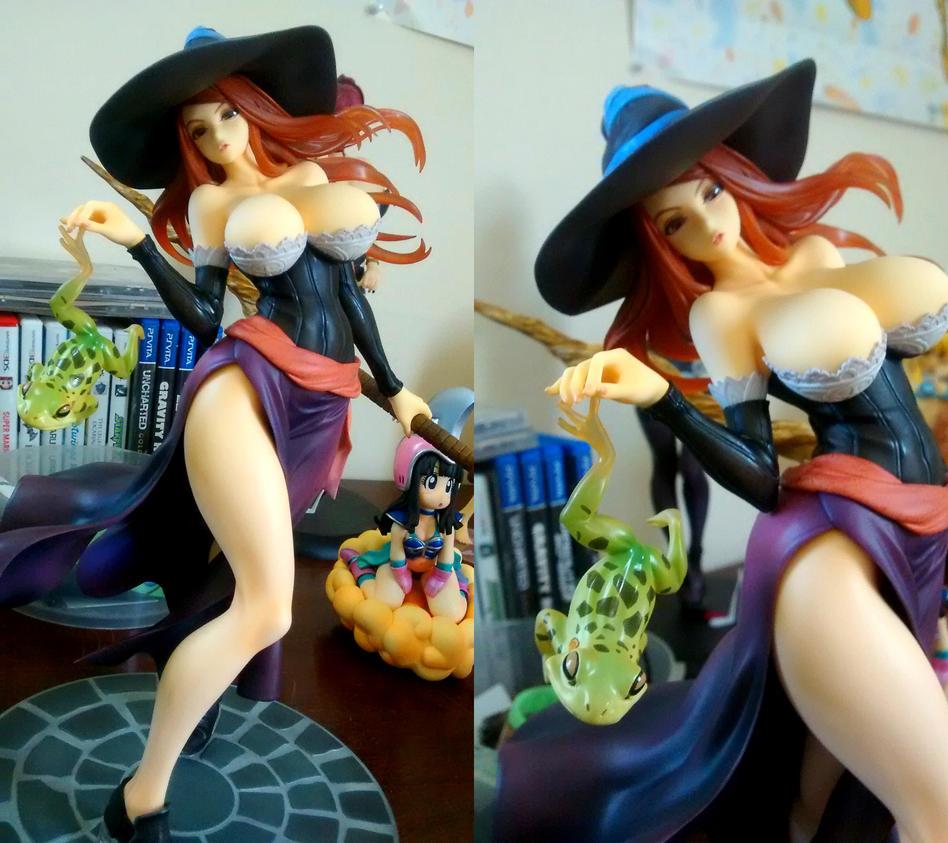 New Dresser Dame-Sorceress by KAIJUfreak