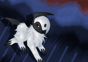 Absol by Tainted-DolL