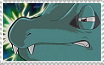 Totodile Death Glare - stamp by Tainted-DolL