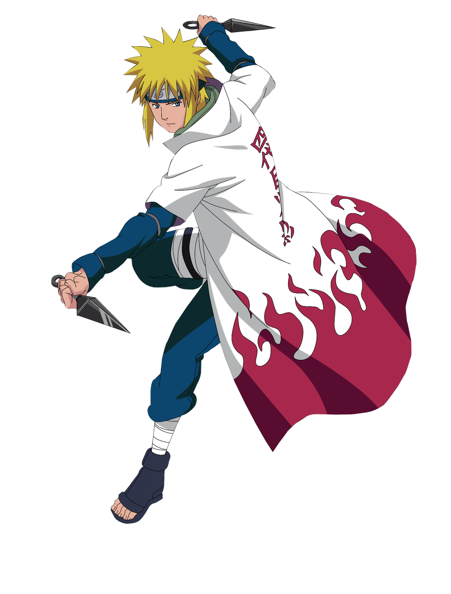 Which Anime Character Are You? Minato_namikaze_render_by_kangaroogi-d56xob5