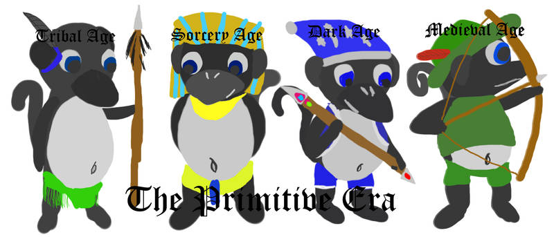 Primitive Era Monguins