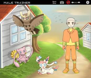 Aang Pokemon Trainer