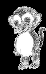 Monguin Digital Sketch