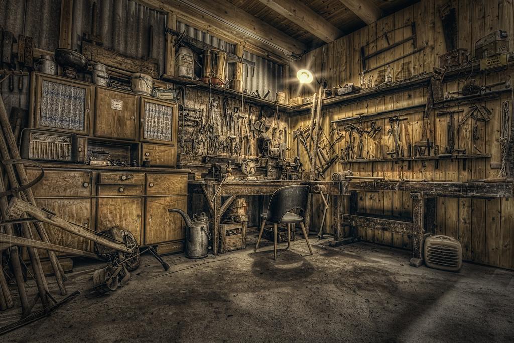 Garage by oberfoerster