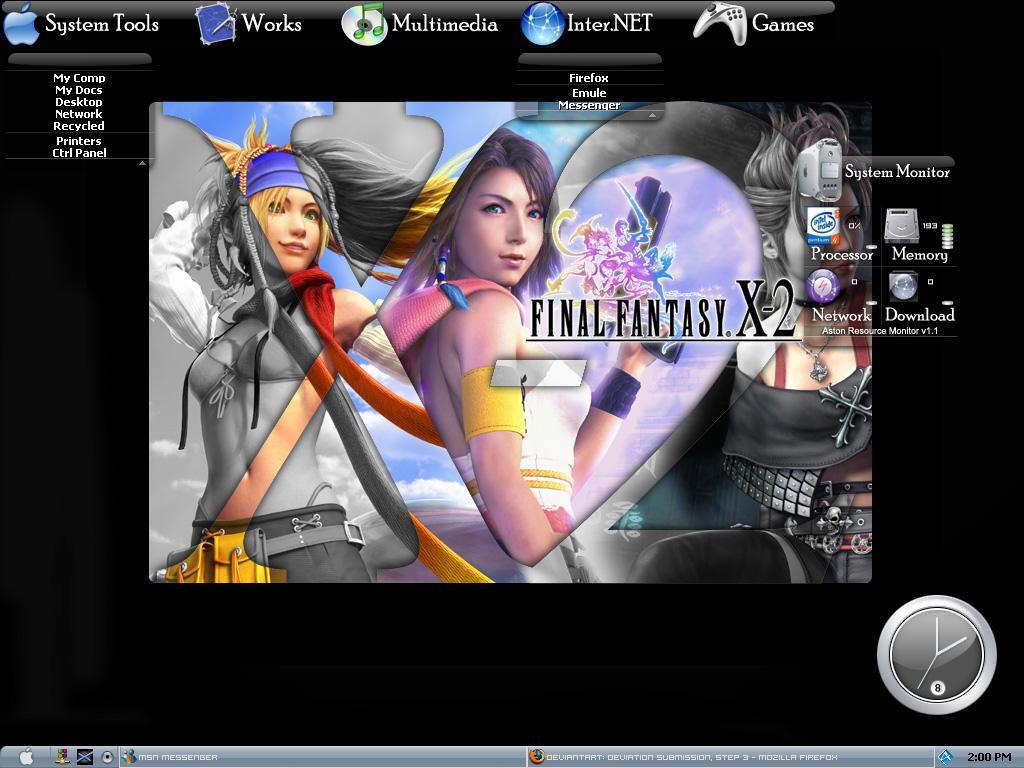My Desktop by BlackPotion