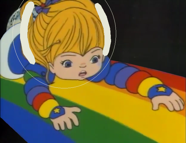 Rainbow Brite in Outer Space by GuiherCharly