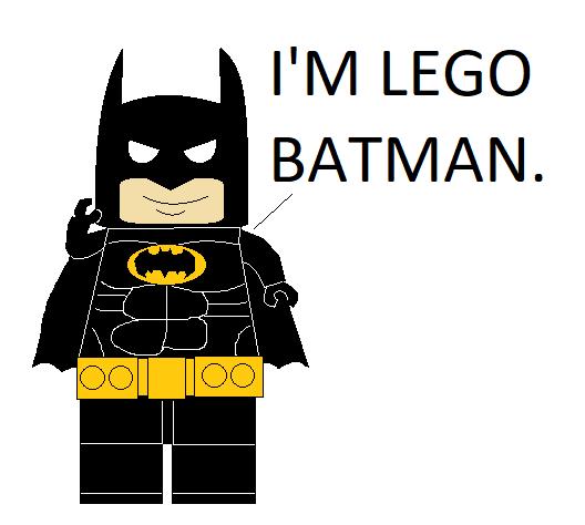 I'm Lego Batman by GuiherCharly