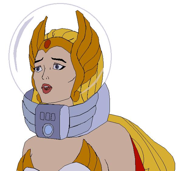 She-Ra space helmet by GuiherCharly