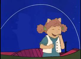 Sue Ellen in Space Car