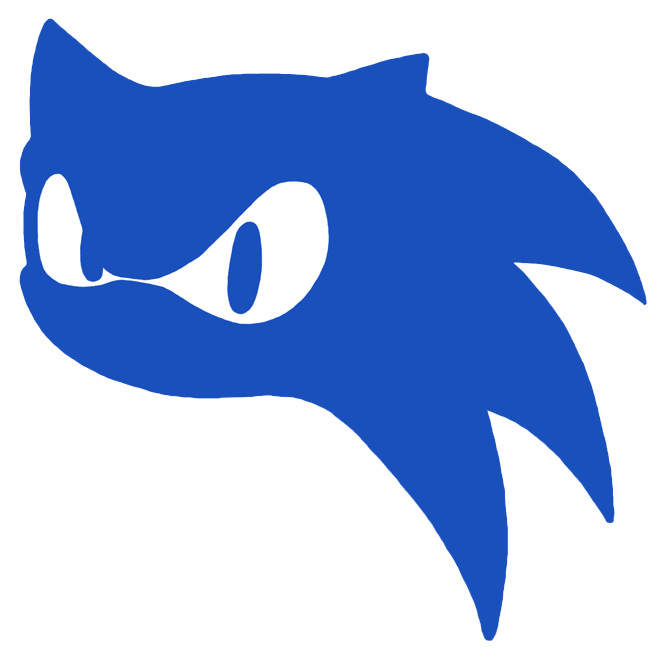 Sonic Head Silhouette By Samsonic On Deviantart