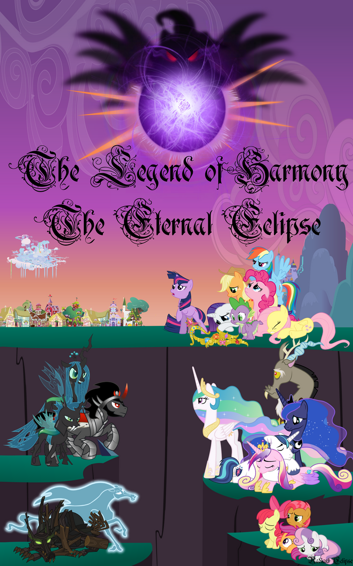 Cover ~The Legend of Harmony: The Eternal Eclipse~ by Radiant--Eclipse