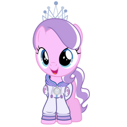 Commission #3 - Diamond Tiara In a Hoodie