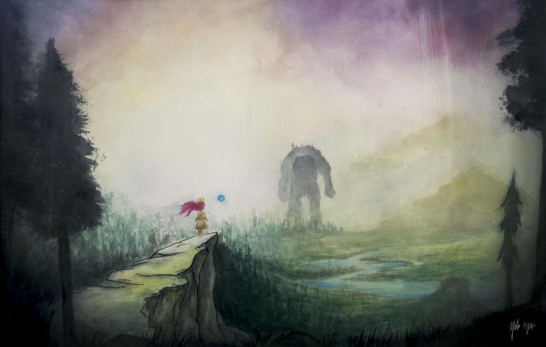 Child Of Light by yuforawesome