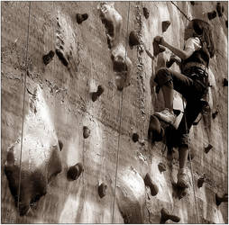 Climbing by protox