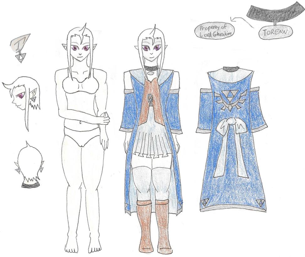 Torenn's clothing by KuchikiYorume