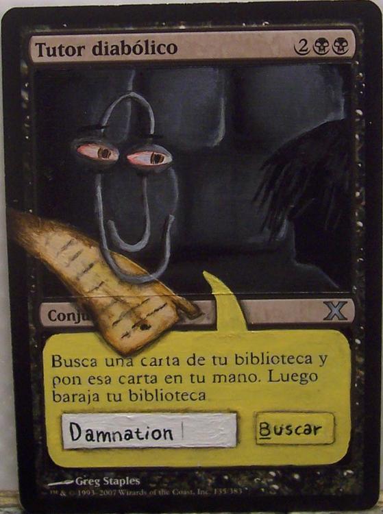 Diabolic Tutor Altered Art Magic Nicolarre Altered art MTG Diabolic Tutor art Altered Diabolic Tutor MTG Black Tutor Magic the Gathering Cards Diabolic Tutor Magic