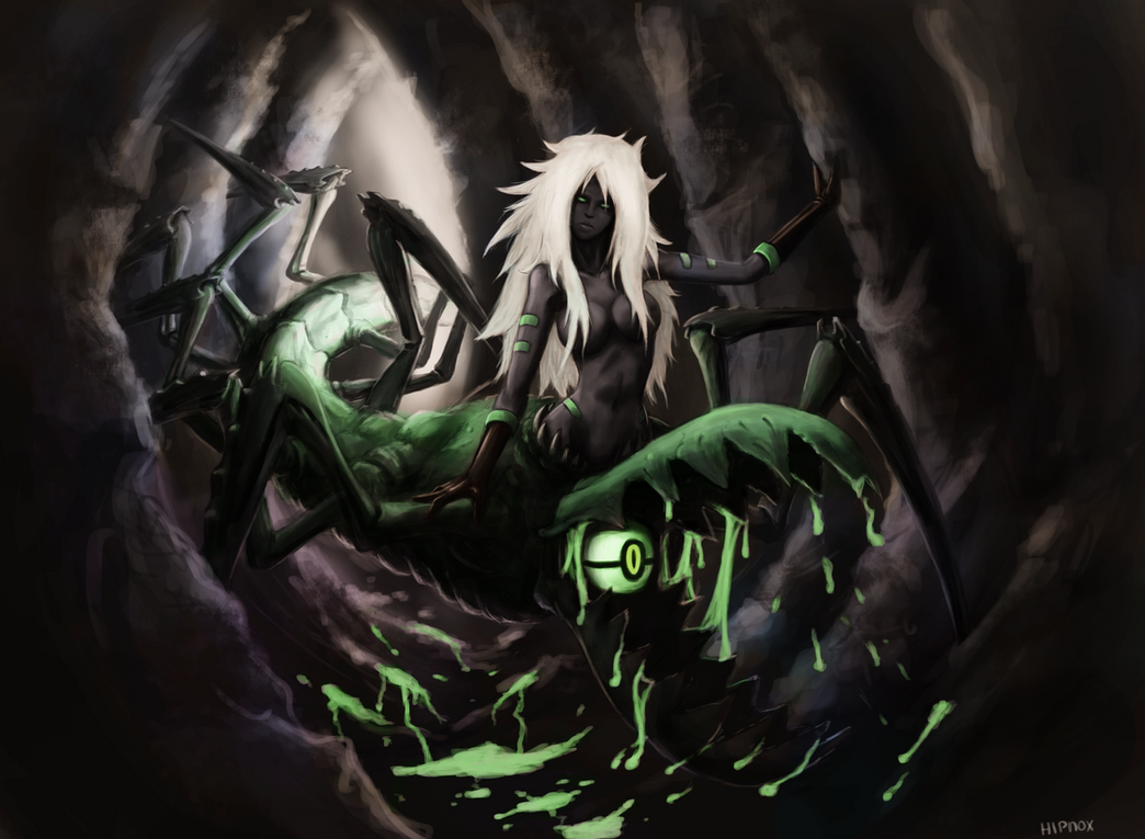 Dark Gems - Centipeelte Quelaag by nicolarre