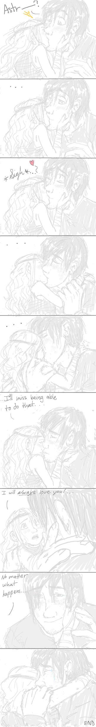 A Giant Kiss by Bonka-chan