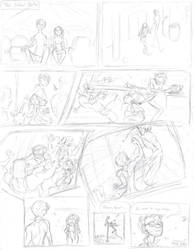 The Ideal Date (rough sketch) by Bonka-chan
